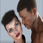 Redz Real Curly for Genesis 3 Male and Female by RedzStudio