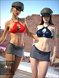 Heat Up for Genesis 3 Female(s) and Genesis 2 Female(s)