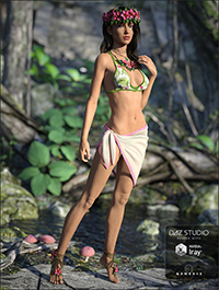 Kailani Outfit for Genesis 3 Female(s)