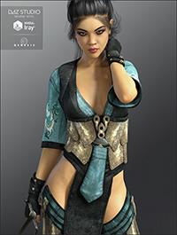 FW Liling HD for Genesis 3 Female