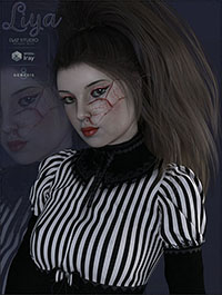 TDT-Liya for G3F and G8F by Deva3D