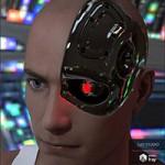 Cybernetic Head for Genesis 8 Male(s)