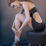 Z Sitting – Poses for Genesis 3 Female