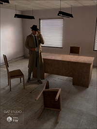 Old Industrial Office Room