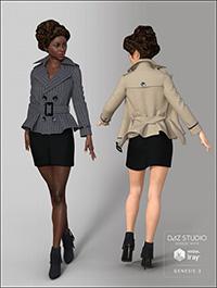 Short Windbreaker for Genesis 3 Female(s)