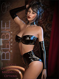 CB Blue Risque by CynderBlueDesigns