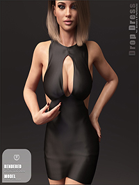Drop Dress for Genesis 8 Females by outoftouch
