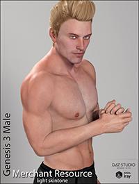 Genesis 3 Male Merchant Resource - Light Skin