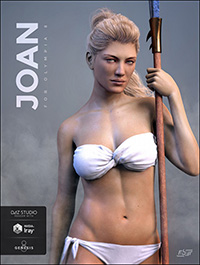 Joan for Genesis 8 Female