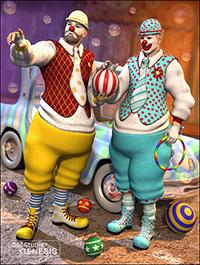 Clown Textures