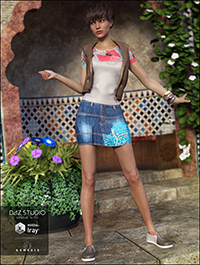 Chantelle Outfit for Genesis 3 Female(s)