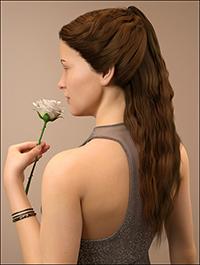 Brielle Hair for Genesis 8 Female(s)