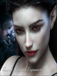 Raquel Vampire Expansion for G3F/G8F by mousso