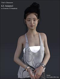 7-ko's Character G3 Asians1 by 7-ko