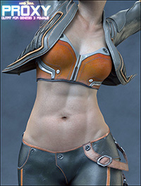 Proxy Outfit for Genesis 3 and 8 Female(s)
