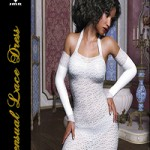 JMR Sensual Lace Dress for G3F by JaMaRe
