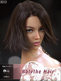 Bblythe Hair for Genesis 8 Female(s)