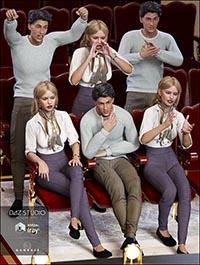 Aslan Theater Going Poses for Genesis 3