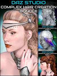 Complex Hair Creation Tutorials Bundle