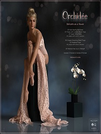 Orchidée Poses for G3F and G8F by fabiana