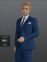 H&C Business Suit for Genesis 8 Male(s)