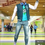 Back 2 School Outfit for Genesis 8 Male(s)