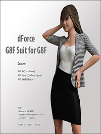 dForce G8F Suit for G8F by kobamax