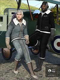 Vintage Aviator Textures