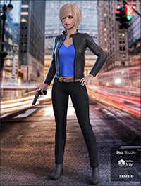 Manhattan Detective for Genesis 8 Female(s)