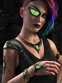 Sci-fi Accessories for Genesis 8 Female(s)