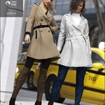 Trench Coat Outfit Textures