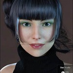 Erika HD plus Morphs and Expressions for Genesis 8 Female