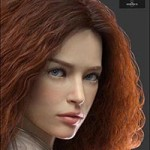Queenie HD for Genesis 8 Female