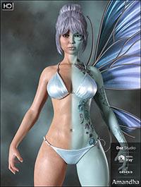 Amandha HD for Genesis 8 Female