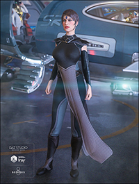 dForce G.I.S. Admiral for Genesis 8 Female(s)