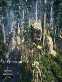 Mountain Trees Dynamic Nature