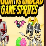 Knight vs Undead Game Sprites
