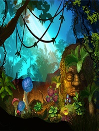 2D Jungle Pack Handcrafted Art
