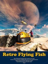 Retro Flying Fish