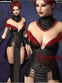 LEGION OF THE DUSK for Genesis 2 Female(s) Victoria 6 / Gia 6 / Girl 6