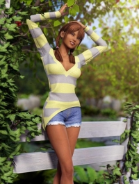 Summer Girl For Genesis 2 Female(s)