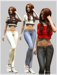 J Girl for Genesis 2 Female(s)