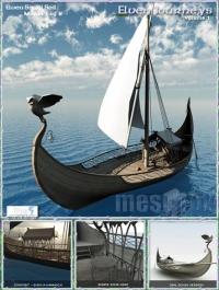 Elven Small Sail Sea Craft