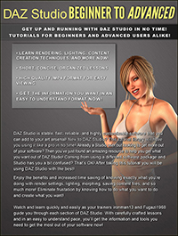 DAZ Studio Beginner to Advanced