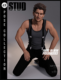 i13 Stud Pose Collection for the Genesis 3 Male(s)