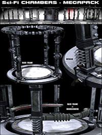 Sci-Fi Chambers MEGAPACK by coflek-gnorg