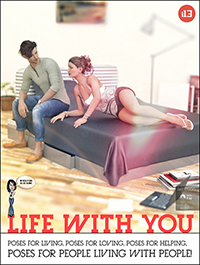 i13 Life with You! Pose Collection for the Genesis 3 Male(s) and Genesis 3 Female(s)