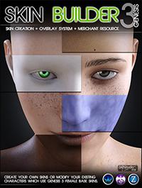 Skin Builder 3 for Genesis 3 Female(s)