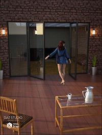 Apartment Patio Set