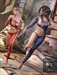 Sexy Bodysuit Textures